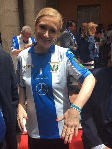 Cristina Cifuentes, presidente de la Comunidad de Madrid